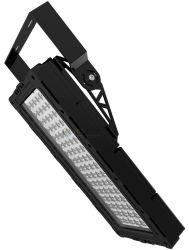 مصابيح LED شديدة الإضاءة الخارجية الساطعة 100-277V 50/60 هرتز IEC شديدة القسوة المناطق الضوء الغمر 320 واط تسليط الضوء الخارجي العدسة عادل ضوء الغمر PLC Dimmer جهاز التحكم عن بعد