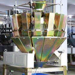جهاز تعبئة الماكينة مع وزن متعدد الوظائف 14 رأس