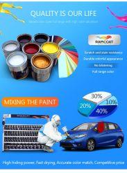多目的高抵抗性販売アクリル製オートリフィニッシュ液体車 冬の自動車樹脂のスプレーのペンキの色