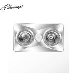 Aquecedor de banho essenciais com luz LED e poderoso de ventiladores de exaustão