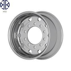 13.00X22.5 14X22.5 광택 광택 OEM 튜브 없음 트럭 트레일러 버스 합금 알루미늄 휠 림