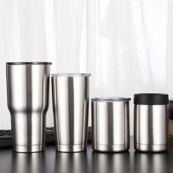 卸し売りステンレス鋼の真空のタンブラーの再使用可能な飲むコーヒーSippyのタンブラーの雪男のコップ