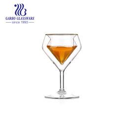 [6وز] [ف] شكل عامّة [بوروسليكت] ضعف جدار زجاجيّة طاس خمر يشرب [ستمور] حارّ عمليّة بيع آنية زجاجيّة ([غب640100180])