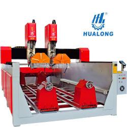 Hualong 3D гравирование CNC Router Stone станок для резьбы по дереву