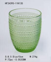 Tägliches trinkendes 330ml 11oz Zylinder-runder Stich-Kristallwasser-Whisky-Glascup Saft-Tee