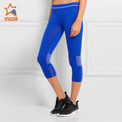 Womens High Waisted Tights - Workout exécutant Pinkey Collants, Leggings de yoga avec filet