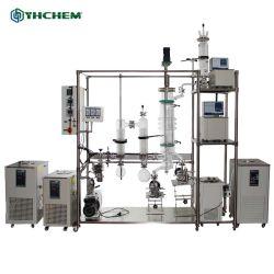 Fabrieksprijs Jacket Moleculaire distillatie korte pad verdamper CBD zuivering Apparatuur