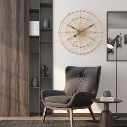 Hermoso reloj de pared de la decoración de gran tamaño de hierro