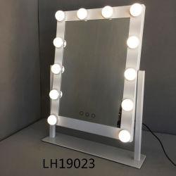 مصابيح LED على نمط هوليوود يمكن تحصيلها ماكياج مرآة الديكور ضوء LED المرآة