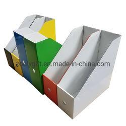 Banheira de venda da revista impressa colorida caixa Organizador titular de arquivo na caixa de armazenamento de documentos