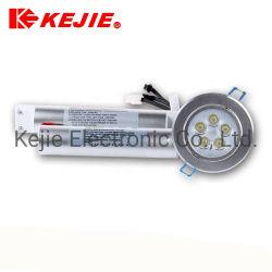 5W Компактный встроенный светодиодный аварийный фонарь направленного света с аккумуляторной батареи