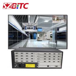 Video Wall Controller 4x4 4X8 12X12 16X16 20X20-sleufkaart Matrix Multi-Input en Multi-Output met Seamless Switching Pip Roaming WiFi Controle