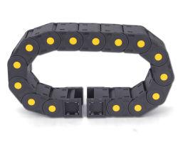 PA66 Cable Flexible de Material de la cadena de arrastre para máquina de CNC