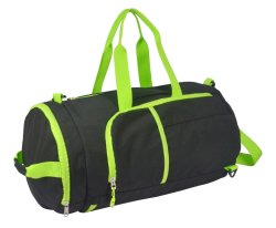 Polyester Sling Travel Duffle Sports Gym Rugzak rond model