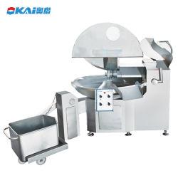 자동적인 고기 기계 공정 장치 중국 작은 사발 절단기 또는 스테인리스 고기 단속기 또는 고기 사발 절단기