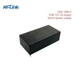取付けられるHlk-12m12 AC 220V DC 12V 1Aの出力コンバーターPCBはカスタマイズされるロゴを受け入れる
