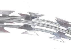 Lâmina de aço inoxidável de Aço de arame farpado Arame farpado fio navalha Cbt-65 316-2b