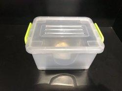 Scatola di plastica personalizzata grossisti cinesi di colore che impila i contenitori 35L