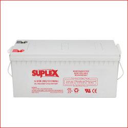 12V/200Ah VRLA/AGM/гель Deep-Cycle Industrial-Energy Lead-Acid Mf SLA-UPS для хранения/Solar-Panel-Power-Battery резервного копирования