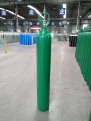 40L 47L 50L 6m3/7.5m3/10m3 고압 압력 용기 이음새가 없는 강철 산소 가스통