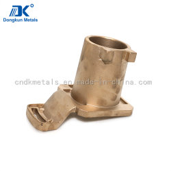 機械装置部品のためのカスタマイズされた重力の鋳造H59の黄銅か青銅または銅のフランジカバー