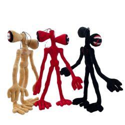Novo design Baby Criança Soft Stuffed Toy Halloween Thanksgiving Chirstmas Peluche Party Moster Siren Head