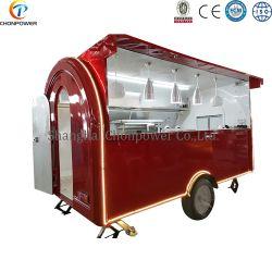 2020 Novo Projeto Frango grelhar alimentos Reboque Icecream Carrinho de venda directa de cozinha móveis Truck Fast Food Van para venda