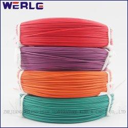 Cuivre étamé multibrins isolé FEP 1332 AWG homologué UL 10 Câble en Téflon 300 V 200c 150 °c.