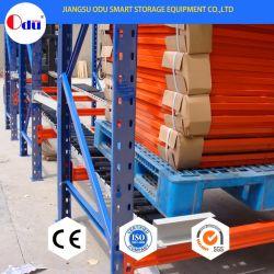Ce Carton Flow approuvé par le biais de roulement pour l'industrie de l'entrepôt de stockage en rack