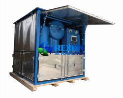 فلتر ثلاثي المراحل لإعادة تحويل الزيت الكهربائي بمنشأة 9000لتر/ساعة
