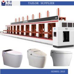 La porcelaine sanitaire pour la machine de moulage haute pression Wc cuvette des toilettes corps Slide-Frame prenant modèle