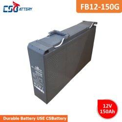Csbattery 12V 150Ah batería de gel de paneles solares para Solar-Panel/Bomba/carro de golf/Power-Tool/motores/CSP