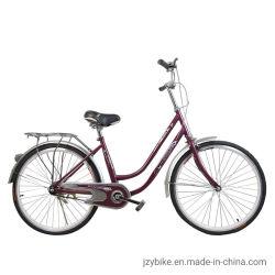 Stadt-Fahrrad-Licht-Damen reiten Aluminiumlegierung-Felge mit Bremsen-Rückseite