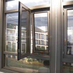 눈 먼 셔터를 가진 날조자 제조자 방음 알루미늄 경사 & 회전 Windows