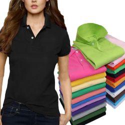도매 맞춤형 패션 아웃도어 유니섹스 폴로 셔츠 남성용 및 여성용 골프 캐주얼 비즈니스 반팔 폴로 티셔츠