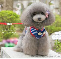 أزياء الكلب الرصاص الشراع أشرطة باوتي القطن الحيوانات الأليفة ضفيرة