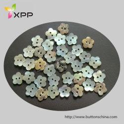 Forme de fleur Agoya bouton Shell