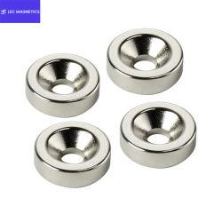 穴のネオジムの磁石とカスタマイズされた磁石のサイズの不規則なリングそして円形