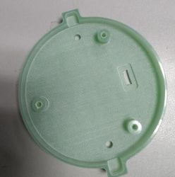 Propia Imagen en 3D diseñado molde de inyección de metal para diferentes plásticos