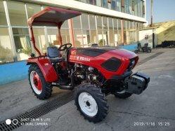 Het Lopen van de Levering van de Fabriek van China 55HP 4WD Tractor van het Diesel de LandbouwLandbouwbedrijf van de Tuin Orchad met Snelle Levering