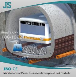 Пластиковые панели стока машин используется для строительства туннелей