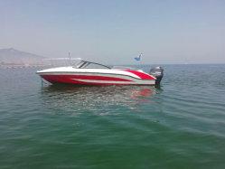 Aqualand 7.3m 24pieds 12personnes sports de vitesse de moteur en fibre de verre /Patrouille de sauvetage/passager Taxi de l'eau (240BR)