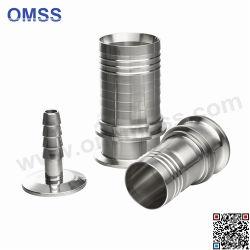 Adattatore sanitario del tubo flessibile del morsetto dell'acciaio inossidabile