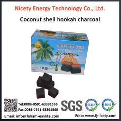 水ぎせるのShishaの木炭のための即刻の立方体の木炭