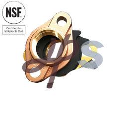 NSF-61 утвердил свинца медной или бронзовой воды фланец дозатора