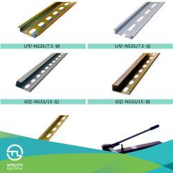 Utl Fabrication en acier du bloc de jonction rail DIN NS35