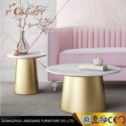 Мраморные стола металлические боковые таблицу в конце таблицы