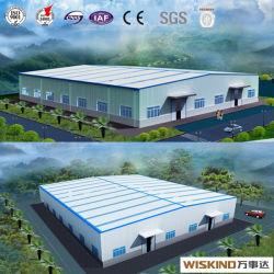 Structure en acier préfabriqués pour l'entrepôt Bâtiment de stockage de l'atelier avec 8 % de remise