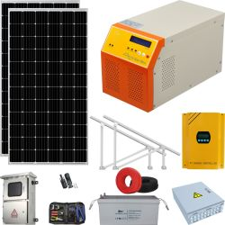 Sistema Solar con batería con precios de casas