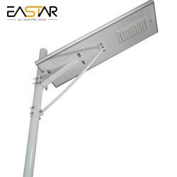 Capteur de mouvement d'alimentation directe en usine 60W 80W100W 120W Rue lumière solaire LED